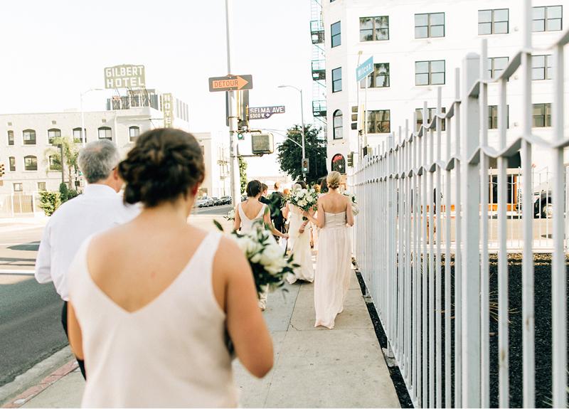 Hollywood Blvd Wedding