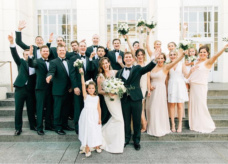 Hollywood Wedding Party2